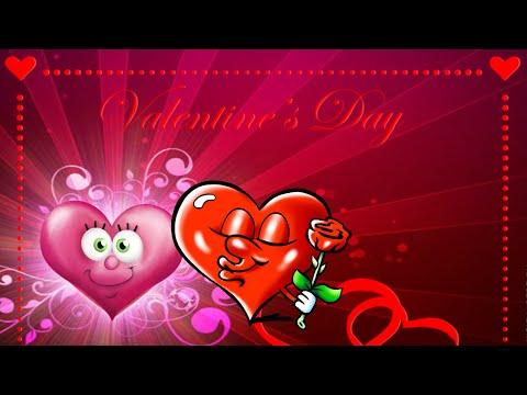 Поздравление с днем Святого Валентина! Музыкальная Валентинка - Ржачные видео приколы