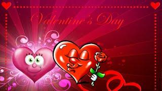 Поздравление с днем Святого Валентина! Музыкальная Валентинка