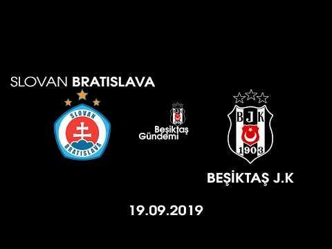 Avrupa Ligi 1.Hafta Slovan Bratıslava - BEŞİKTAŞ