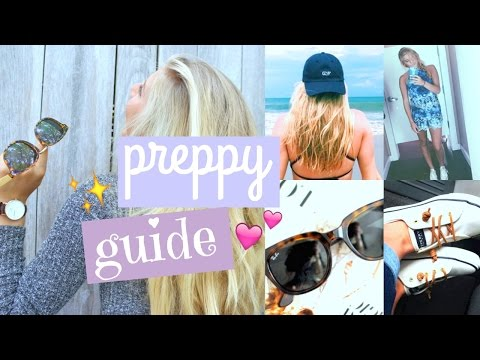 Preppy Girls Guide!⎜Essentials, Style & More