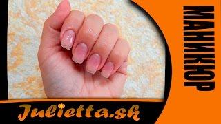Укрепление натуральных ногтей с помощью гель пудры от SNS