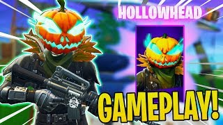 New Hollowhead Skin In Fortnite Gameplay! | Giveaway??
