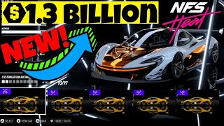 I Made $1.3 BILLION With This INSANE NEW Nfs Heat MONEY GLITCH!  Need For Speed Heat MONEY GLITCH!