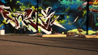 Graffiti artists DETOX X EOS Colorado Street Team