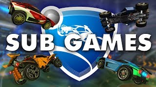 SUB GAMES & ROAD TO 4K - Rocket League LIVE STREAM