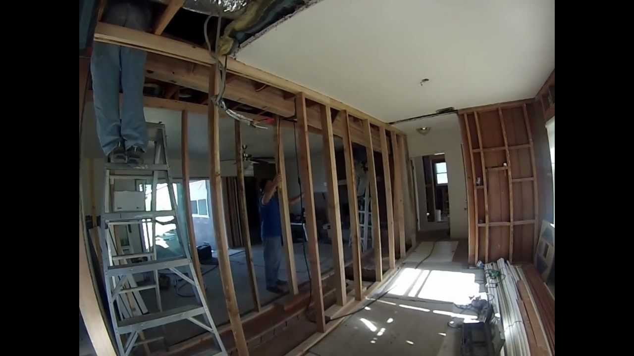 How To Install A 450 Pound Beam In 7 Minutes Mp4 Youtube