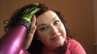 Сушка кудрявых волос диффузором - моя техника сушки