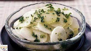 Lemon Radish Salad