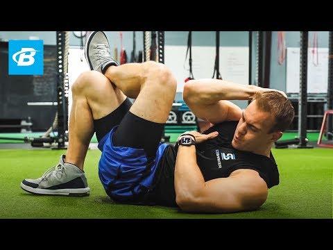 5-minute-abs-workout- -chris-gronkowski