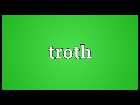 Troth Meaning