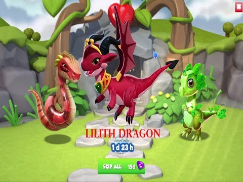 How to Breed Legendary Lilith Dragon | Dragon Mania Legends |