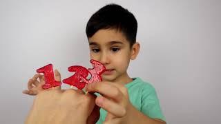 Finger Family Nursery Rhymes Song Lerne Zahlen! Kindergarten Kinderlieder Lieder für Kleinkinder