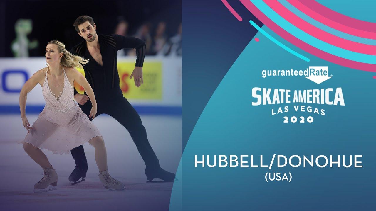 Hubbell/Donohue (USA)   Ice Dance Free Dance   Guaranteed Rate Skate America 2020   #GPFigure