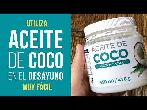 Desayuno con Aceite de Coco