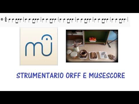 Insegnare musica Scuola primaria con strumentario Orff e Musescore