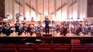 "Slovak Philharmonic Orchestra recording for ""Winston Churchill: Walking With Destiny"""