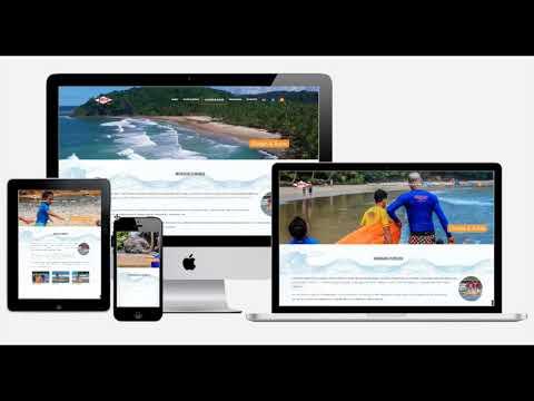 Thor Surf School - Multi Devices - Desenvolvido por VDesign