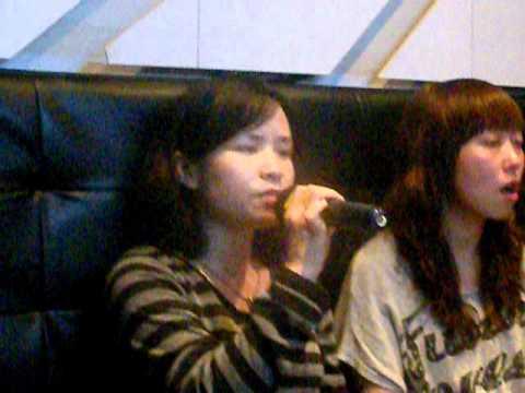 Panny and Alice   Neway Karaoke   Mong Kok   Hong Kong   September 2011