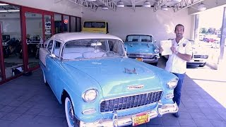 1955 Chevrolet Belair Protouring LS2 for sale with test drive, driving sounds, and walk through