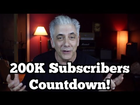 LIVE! 200k Subscriber Countdown and Super Sale!
