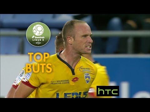 Top 10 buts / mi-saison 2016-17 / Domino's Ligue 2