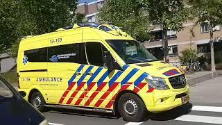 Grote Brand  Woningbrand Aan De Ruyschstraat In Amsterdam
