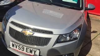 Review Of A Chevrolet Cruze LT Auto