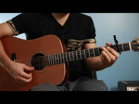 EASY guitar tutorial: Believe from The Polar Express
