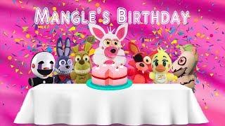 Fnaf Plush-Mangle's Birthday Cake