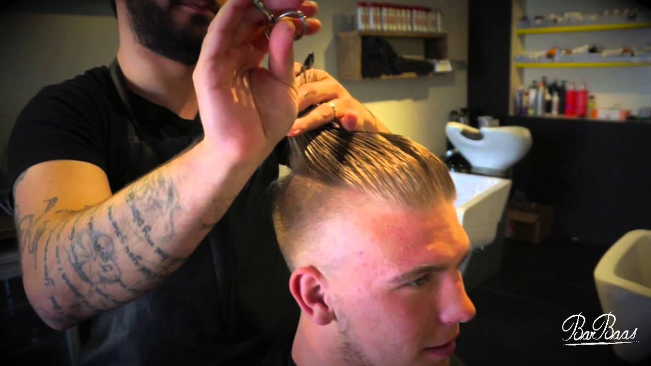 Barbaas Undercut Hairstyle Summer Hipster 2015 Youtube