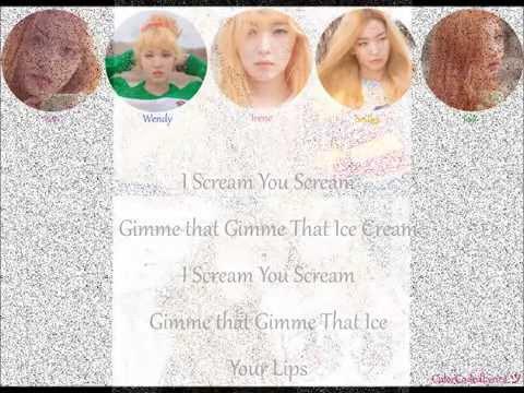 Red Velvet 레드벨벳 - Ice Cream Cake Lyrics
