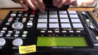 MPC 1000 Beat making (sample:BETTY LAVETTE - YOUR TIME TO CRY) & Live