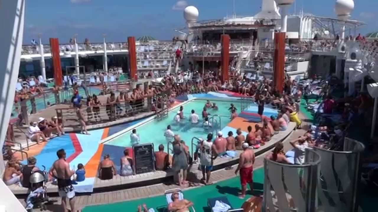Family Pools On Freedom Of The Seas Cruise Ship YouTube - Pictures of freedom of the seas cruise ship