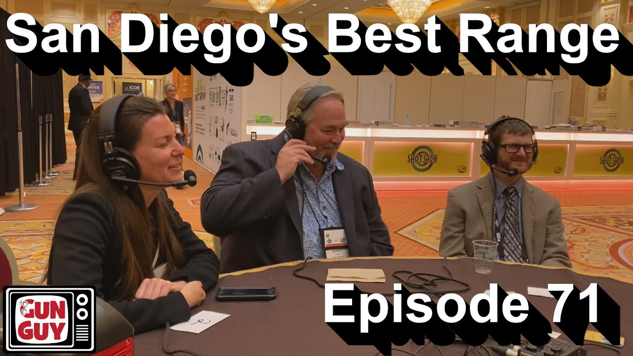 San Diego's Best Shooting Range - A SHOT Show 2020 Interview - Podcast Episode 71