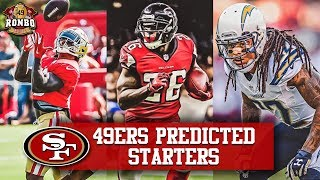 49ers Predicted Starting Lineups: Jerick McKinnon, Tevin Coleman, Jason Verrett Top Depth Chart
