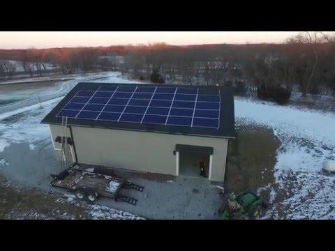 GRNE Home Solar Installation