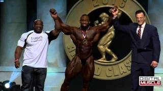 Arnold Classic 2016 - Finale Results (HD)
