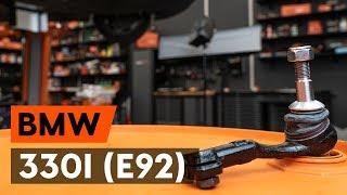 Как се сменя Ремонтен Комплект Спирачен Апарат на 3 Coupe (E92) - видео наръчници стъпка по стъпка