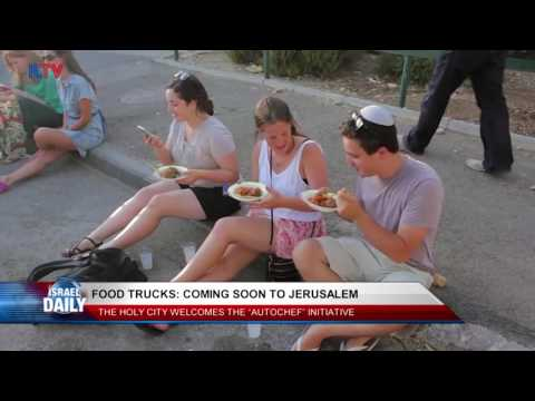 Food Trucks Are Coming to Jerusalem