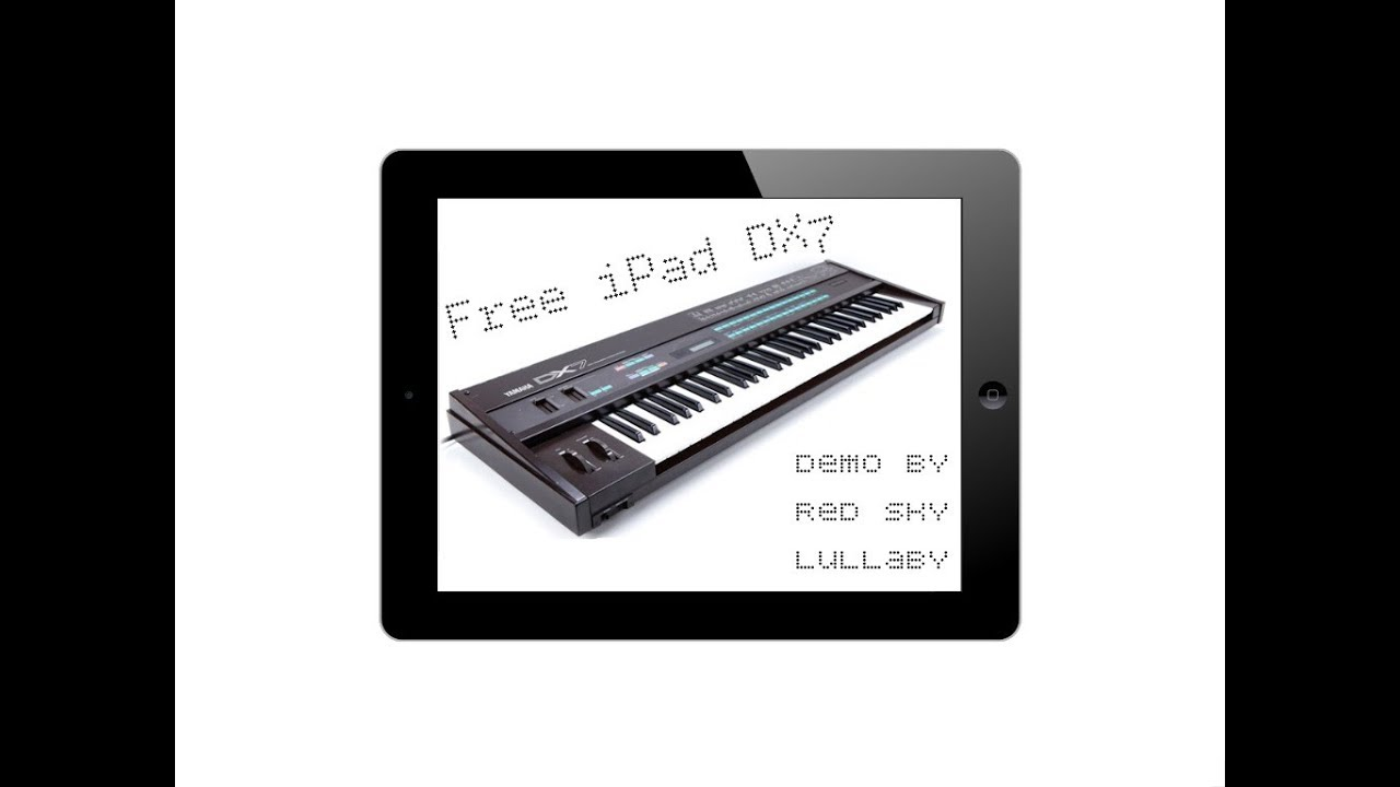 Free FM Player Brings The Original DX7 Sounds To The iOS
