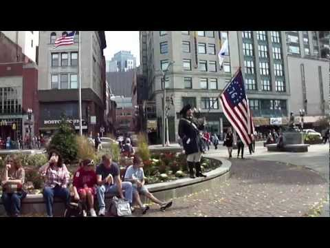Boston Commons - Freedom Trail Tour Guide