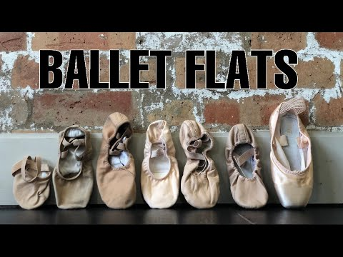 Different types of ballet flats
