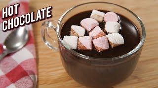 Hot Chocolate Recipe - Easy Homemade Hot Chocolate Drink - Winter Special - Ruchi
