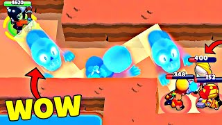 *WOW* 1000 IQ Bibi vs -10 IQ ! Brawl Stars Wins & Fails #221