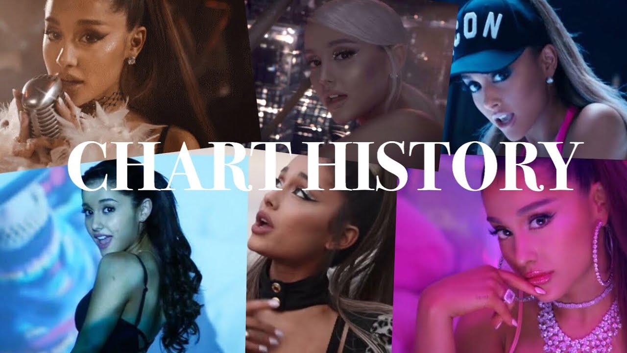 Ariana Grande - Full Billboard Hot 100 History (April 2019)