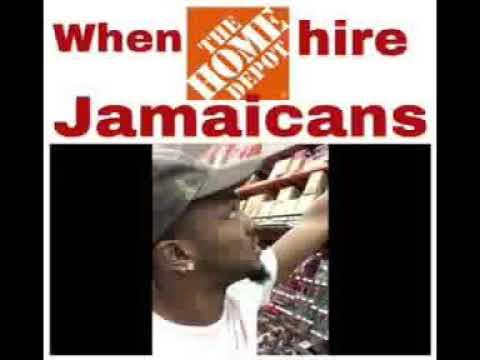 Jamaican home depot worker