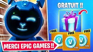REETYOUR your CADEAU 100% FREE on FORTNITE!!