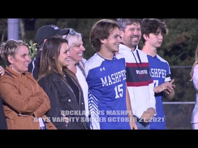 Soccer - Mashpee vs Rockland 10-21-2021