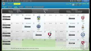 Football Manager 2013 - Training