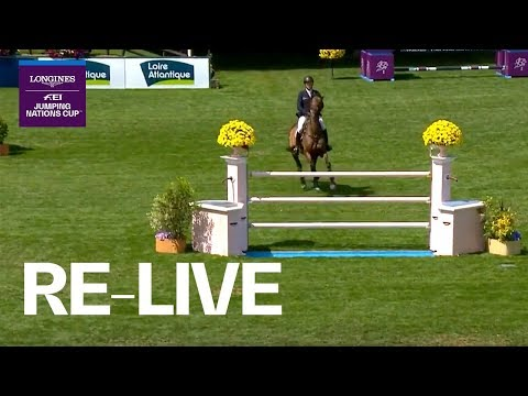 LIVE 🔴 Longines FEI Jumping Nations Cup™ | La Baule (FRA) | Longines Grand Prix